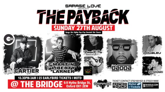 Garage Love #The Payback